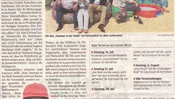 Wohnungsgenossenschaft Letmathe-Oestrich unterstützt das Floriansdorf - 03.07.2019 IKZ